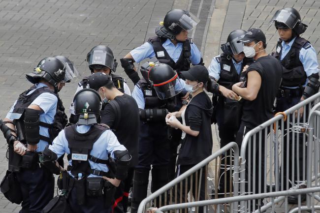 Hong Kong legislative work suspended amid political crisis   Chester