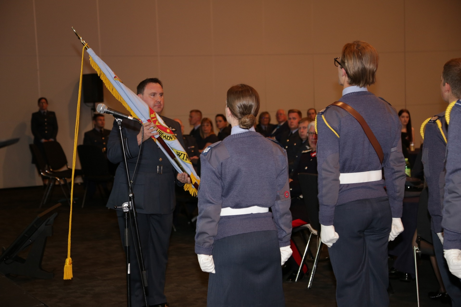 Air Cadets hold first award ceremony to celebrate the achievements of Cheshire and Merseyside volunteers